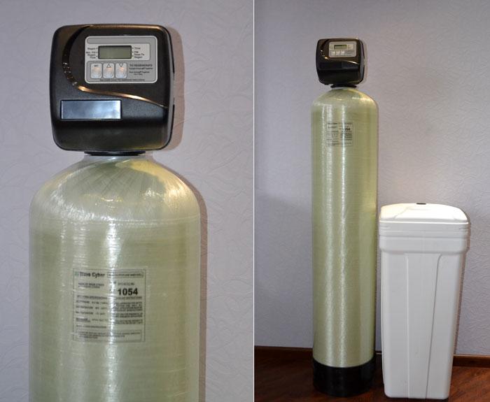 Умягчитель воды стационарный ионообменные на базе управляющего клапана CLACK